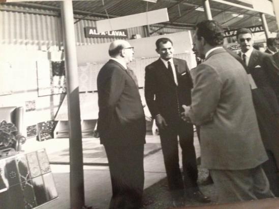 Franco Zeppi e Bettino Craxi