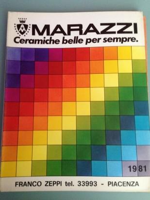 1981, catalogo Zeppi
