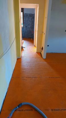sistema di desolidarizzazione ideale per il riscaldamento a pavimento e Lastre