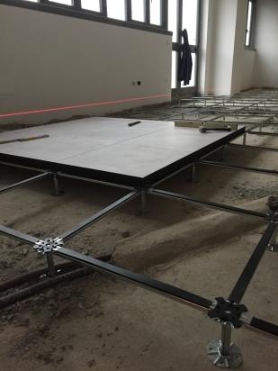 struttura e piastre di pavimento galleggiante