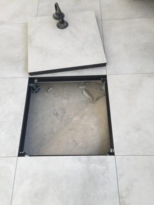 facilità di ispezione dei tubi sotto pavimento