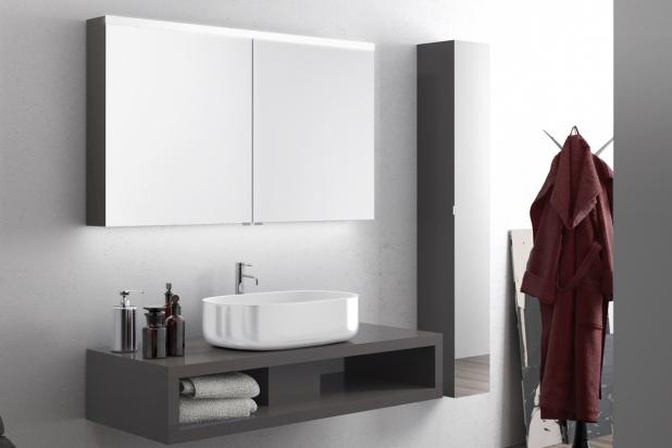 ISA bagno, Iris, specchio contenitore