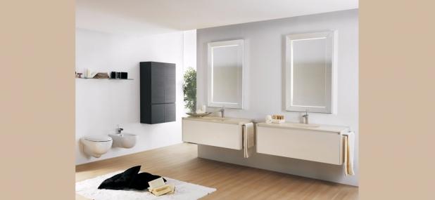 ISA bagno, One, componibile, mobile bagno sospeso