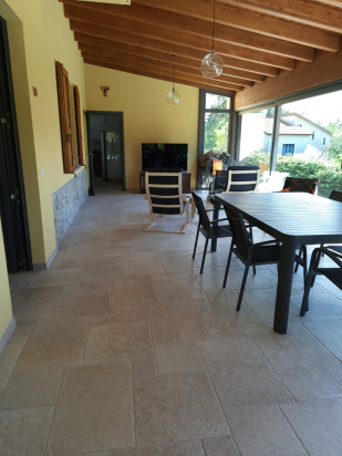 esterno casa con Dordogne